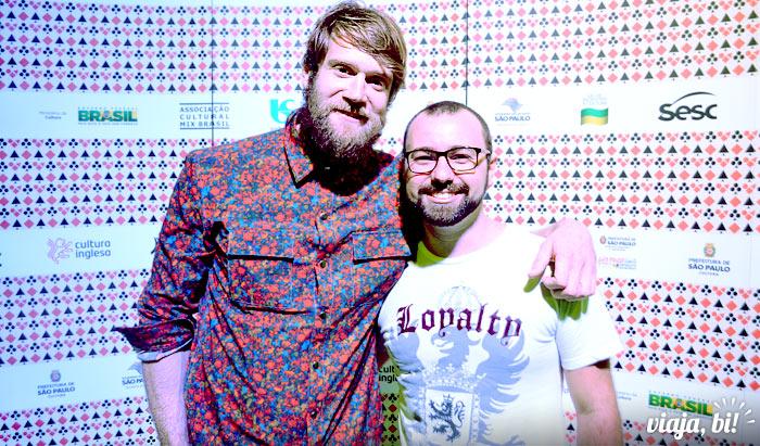 Rafael Leick entrevistou o ator gay Colby Keller, o primeiro vídeo no YouTube