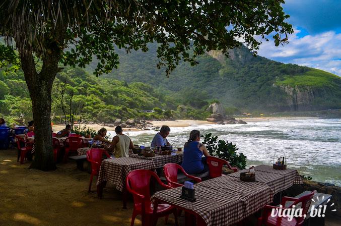 Visual único do restaurante Mirante da Prainha, vale muito a pena pela vista