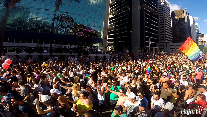 19ª Parada do Orgulho LGBT de São Paulo, em 2015