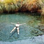 Atacama Gay: Rafa nas piscinas termais das Termas de Puritama, no meio do Deserto do Atacama