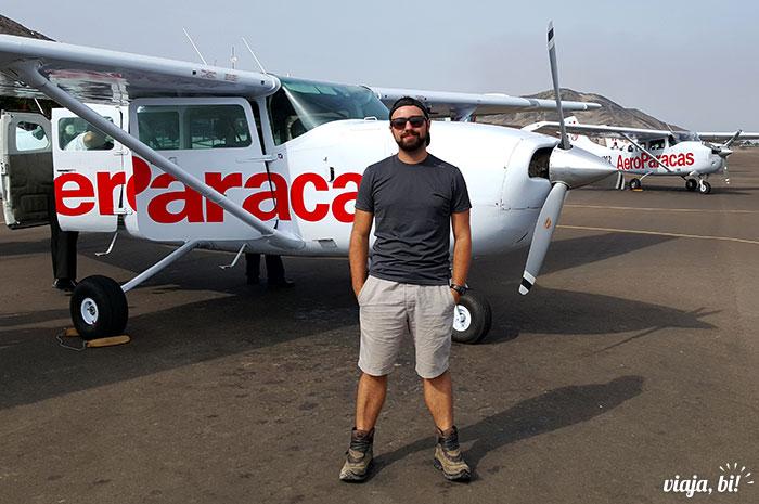 Fiz o sobrevôo às Linhas de Nazca com a Aero Paracas