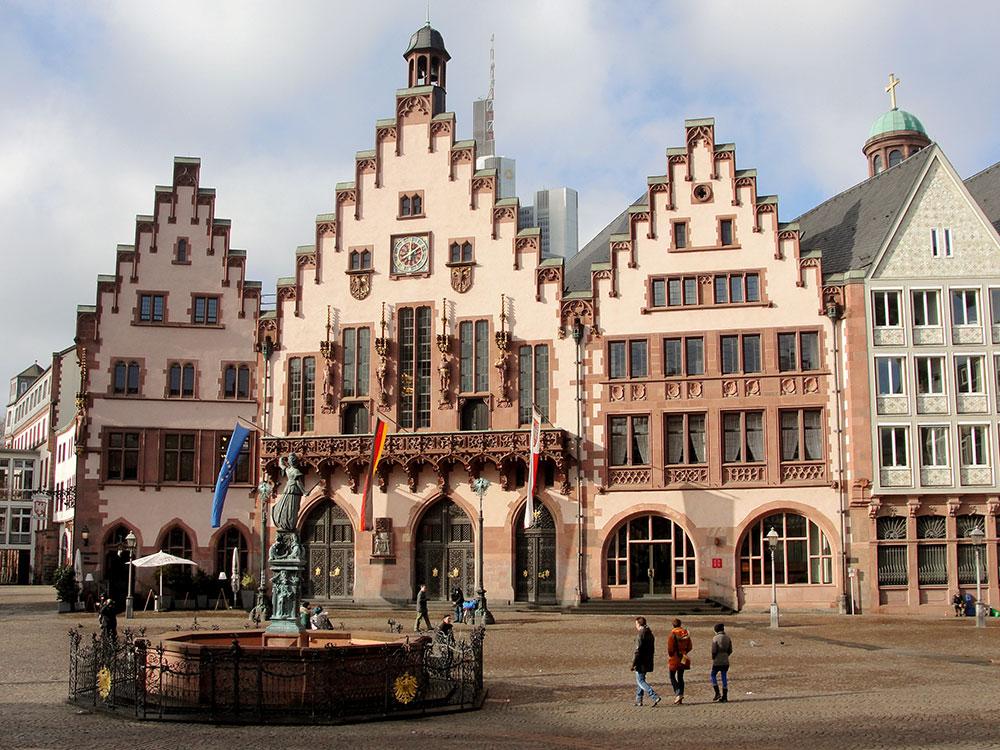 Römerberg, a parte mais fofa de Frankfurt