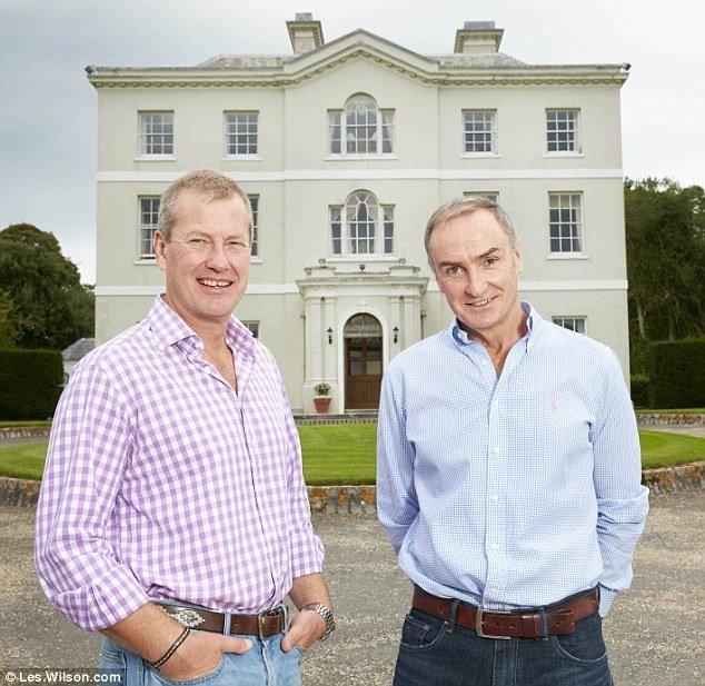 Lord Ivar Mountbatten e James Coyle - Foto: HNGN