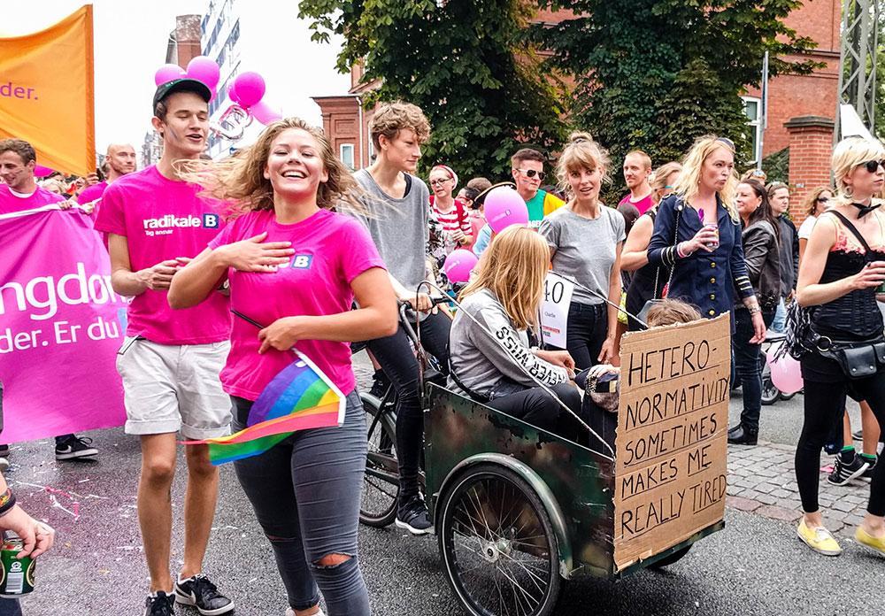 Copenhagen Pride, a Parada LGBT de Copenhague, na Dinamarca - Foto: Two en Route