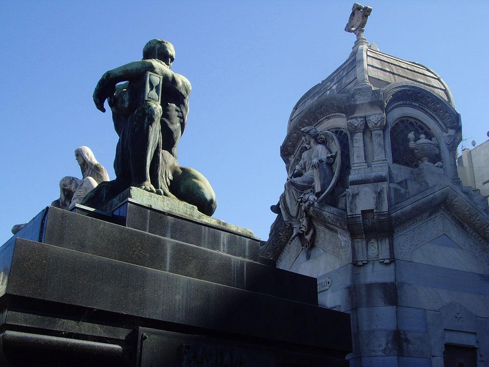 Argentina Gay: Cemitério da Recoleta, em Buenos Aires - Foto: Gabriel Saraiva