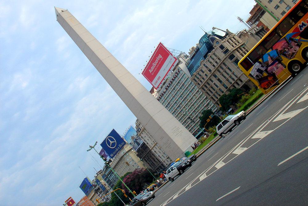 Argentina Gay: Obelisco, em Buenos Aires