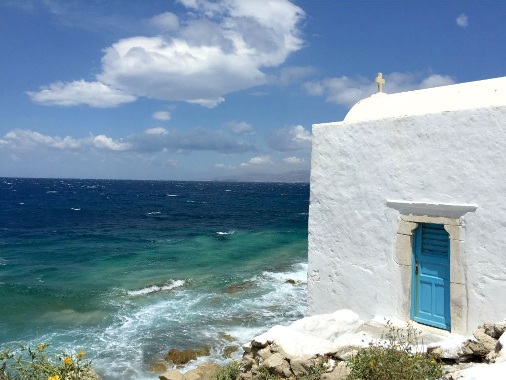 Mykonos tem lindas paisagens