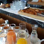 Café da manhã continental do Puerto Norte Design Hotel