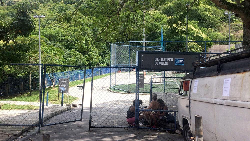 O ponto de partida da trilha Morro Dois Irmãos, Rio de Janeiro - Foto: Jeff Slaid