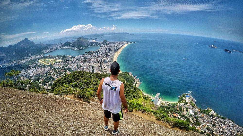 Fim da Trilha Morro Dois Irmãos, Rio de Janeiro - Foto: Jeff Slaid