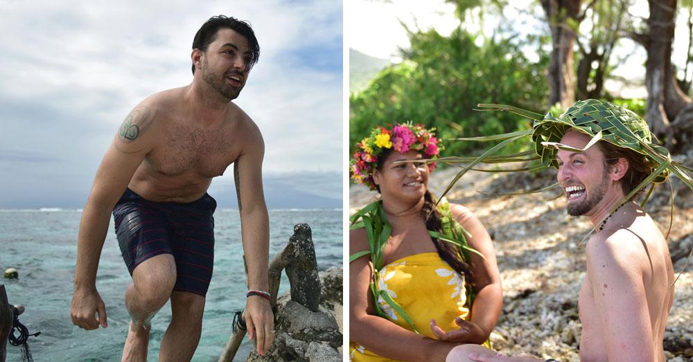 Jeff e Thom formam um dos casais que estrela a campanha do Taiti - Fotos: Divulgação