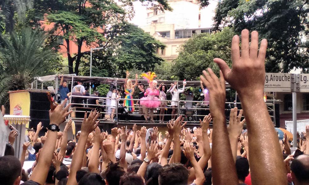 Turismo em Metrópole: Carnaval Gay de São Paulo - Foto: Clovis Casemiro