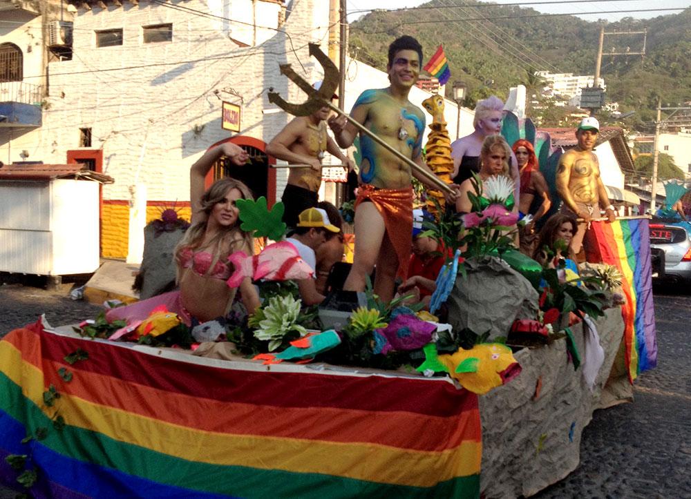 Vallarta Pride faz parte das festas LGBT em Puerto Vallarta, México - Foto: Divulgação