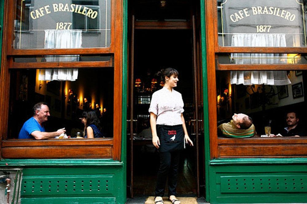 Uruguai LGT: Café Brasilero, um dos pontos turístico da cidade