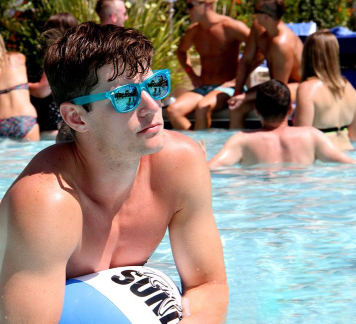 Temptation Sundays Pool Party - Eventos LGBT em Las Vegas - Foto: Divulgação