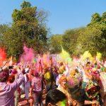 Holi Festival: todo mundo coloriu - Foto: Antonio & André