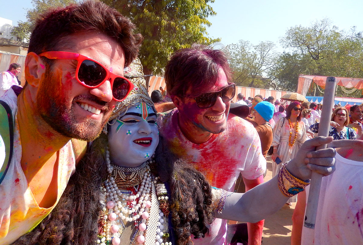 Holi Festival: as deusas - Foto: Antonio & André