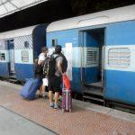 Nosso trem de Primeira Classe, na Índia - Foto: Antonio & André