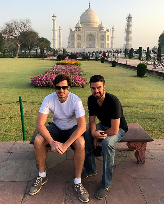 Um caso de amor no Taj Mahal - Foto: Antonio & André