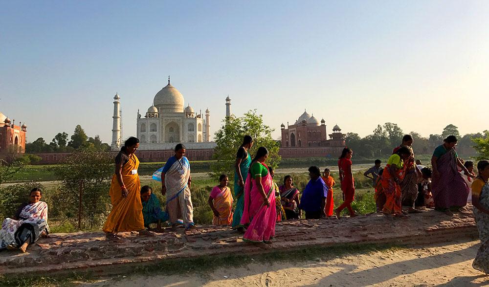 Taj Mahal, tem como não amar? - Foto: Antonio & André