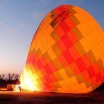Bi que é bi, viaja de balão - Foto: Antonio & André