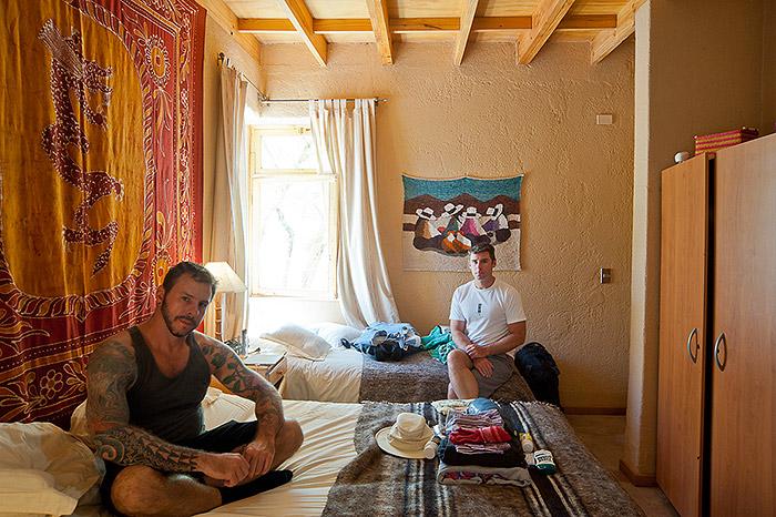Hotel Room Portraits: Explorando o Deserto de Atacama, no Chile, em 2012