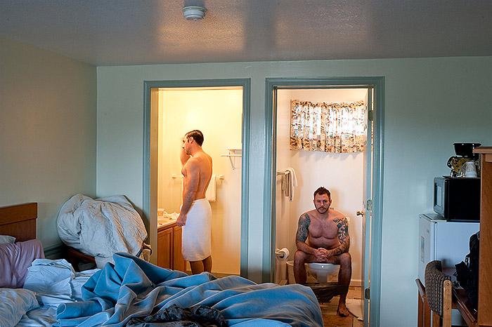 Hotel Room Portraits: Intimidade na Carolina do Norte (EUA) em 2011