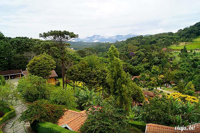 Vista do chalé Master Top na Pousada Quatro Estações, em Santo Antônio do Pinhal - Foto: Emerson Lisboa / Viaja Bi!