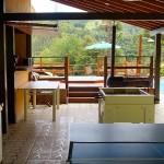 Salão de jogos perto da piscina e jacuzzi - Foto: Emerson Lisboa / Viaja Bi!
