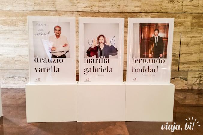 Drauzio Varella, Marília Gabriela e Fernando Haddad também completam a frase