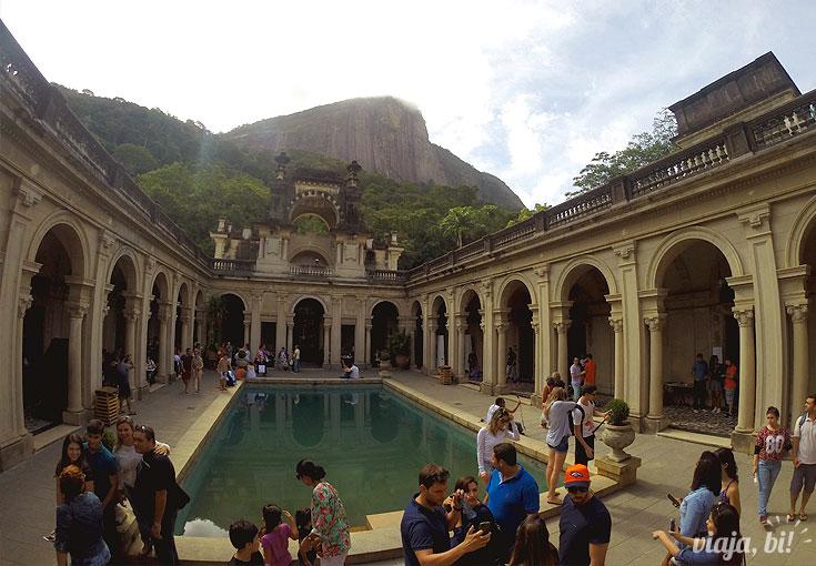 Parque Lage ou também conhecido por mim como cenário de AcQuária