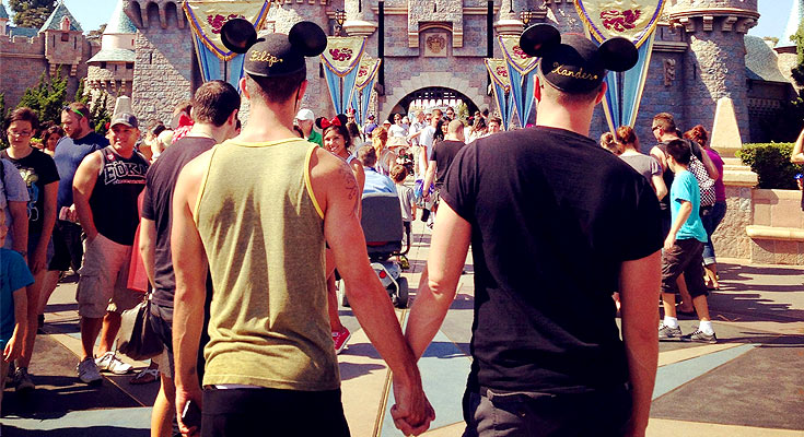 from Greyson disney pictures gay day