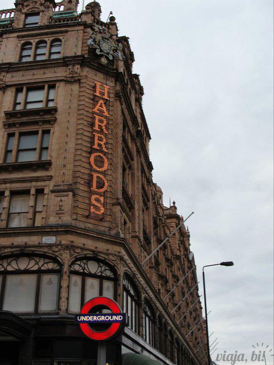 Harrods, a loja mais phyna de Londres