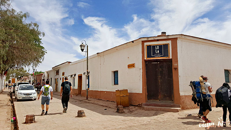 Atacama Gay: Fachada do Lola, restaurante gay-friendly em San Pedro de Atacama
