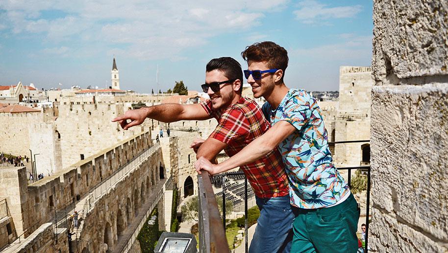 Muito amor em Israel (Foto: Divulgação / OUTstanding Travel)