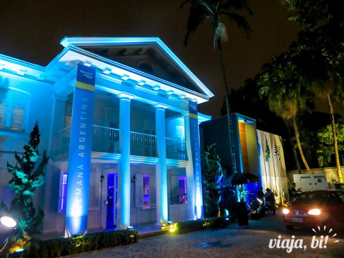 Casa Argentina, localizada no bairro de Pinheiros