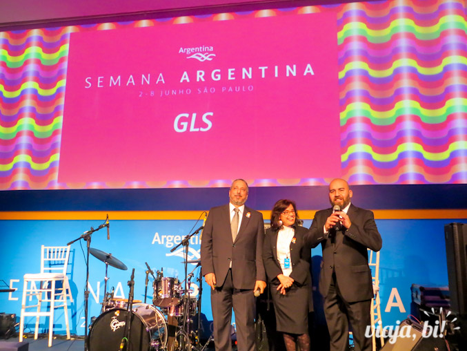 Pablo, Marcela e Gustavo falam sobre as ações de promoção do turismo LGBT argentino