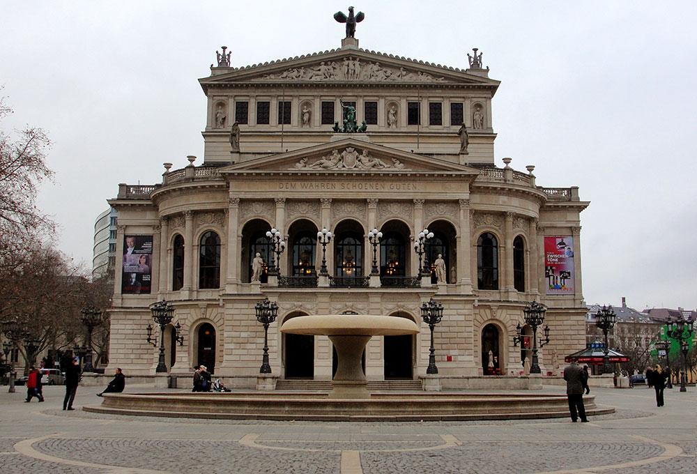 Alte Oper Frankfurt, uma das casas de show da cidade