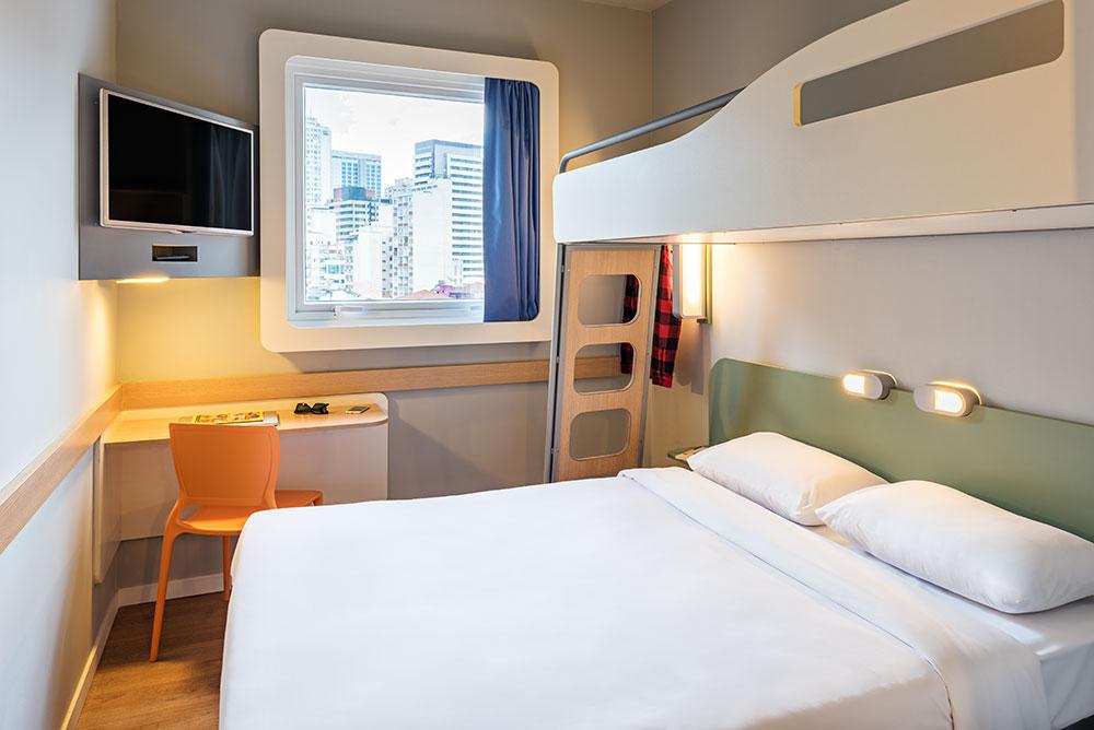 Hotel gay-friendly em SP: Apartamento do ibis budget Frei Caneca