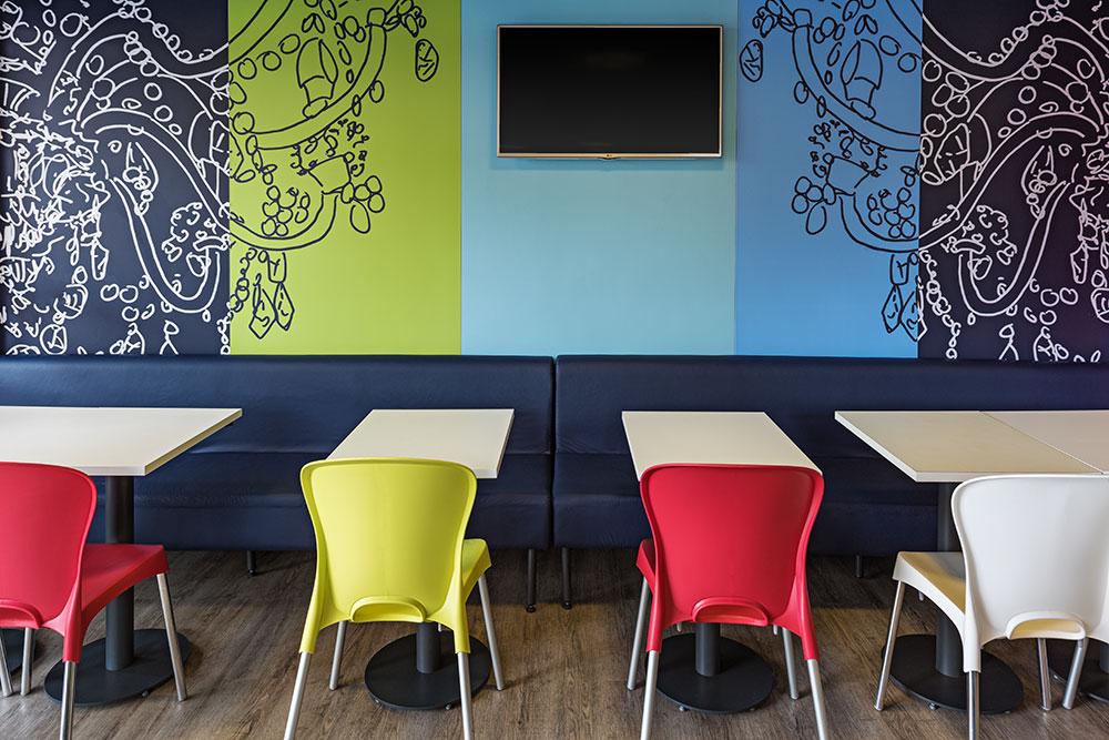 Hotel gay-friendly em SP: Restaurante do ibis budget Frei Caneca
