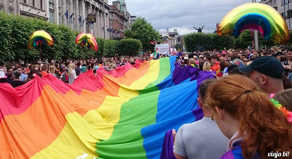 Parada Gay em Dublin - Foto: Paulinho Basile