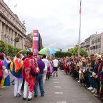 Várias empresas apoiam a Parada Gay de Dublin, como a Sky - Foto: Paulinho Basile