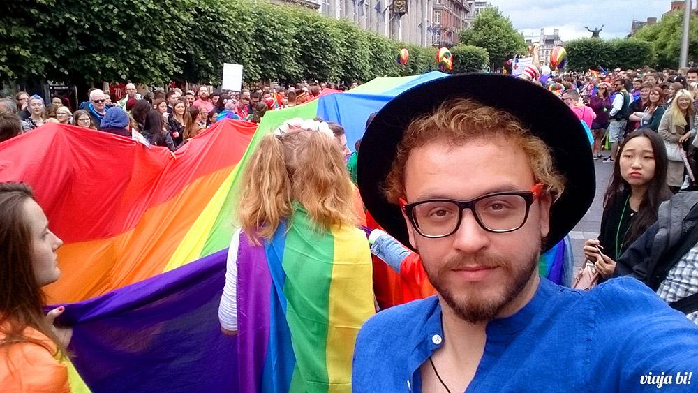 Selfie do Paulinho na Parada