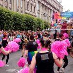 Foi um arraso só essa Parada Gay de Dublin, hein, bi? - Foto: Paulinho Basile