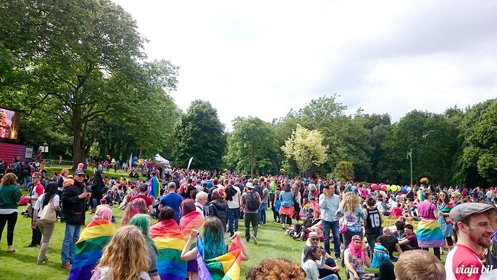 A Vila Gay no parque - Foto: Paulinho Basile