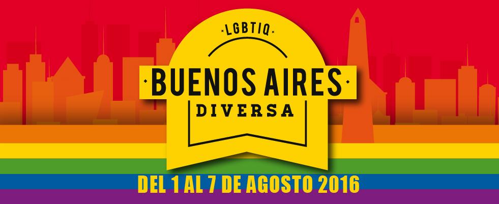 Arte do evento Buenos Aires Diversa