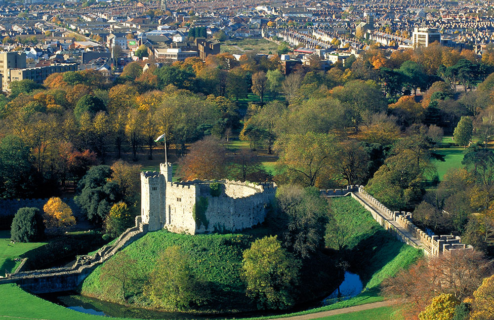 Castelo de Cardiff - Love is GREAT