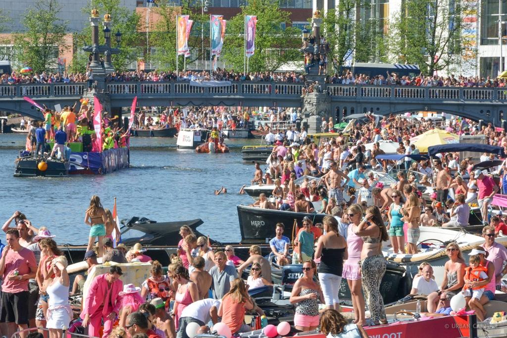 Amsterdam Gay Pride - Foto: Reprodução / Conexão Amsterdam