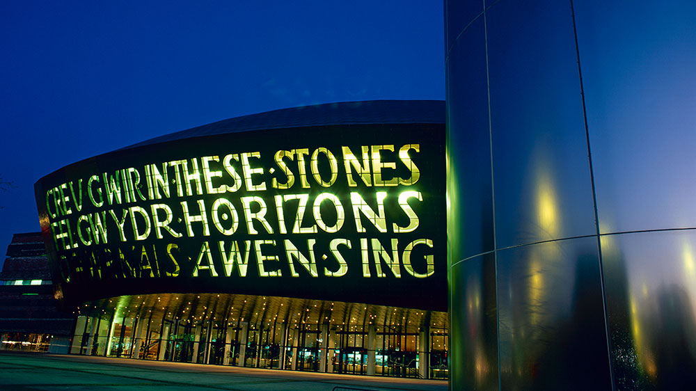 Wales Millenium Centre - Love is GREAT