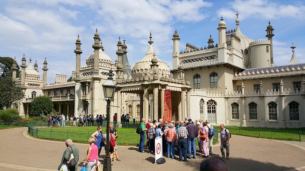 O tour gay Piers & Queers passa pelo Brighton Royal Pavillion